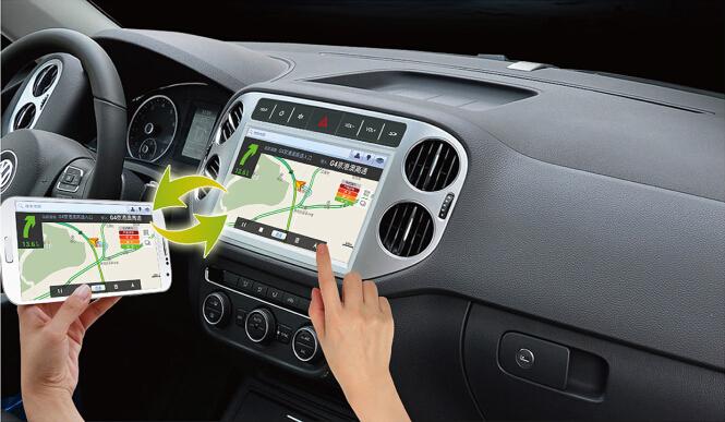 Central Multimídia com Espelhamento de Tela - GPS